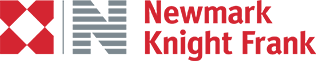 Newmark Knight Frank red and gray logo